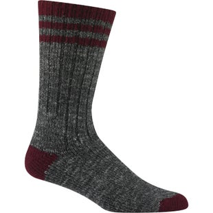 Wigwam Pine Lodge Hiking Socks - Charcoal Burgundy