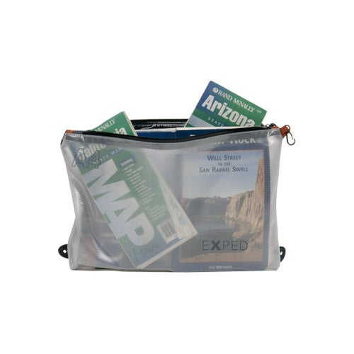 Exped Vista Organiser A4 Accessory Case - Transparent