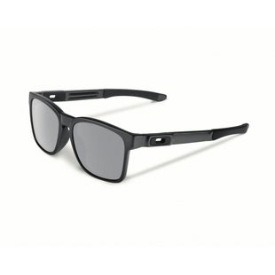 Oakley Catalyst Sunglasses - Steel ~ Chrome Iridium