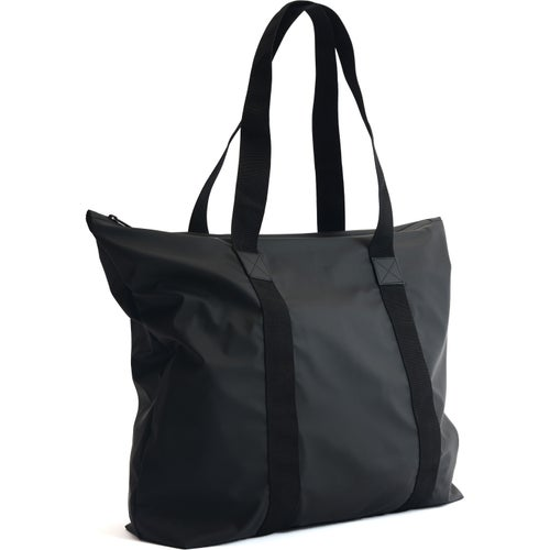 Rains Tote Shopper Bag - Black