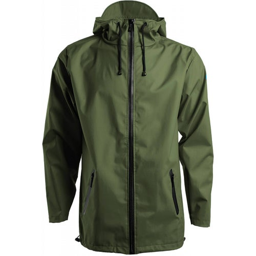 Rains Breaker 17 Jacket - Green