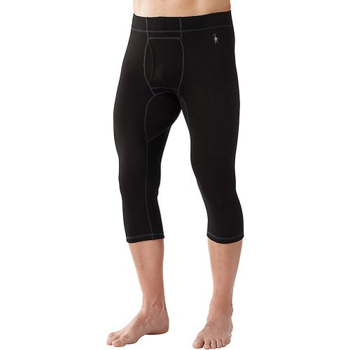 Smartwool NTS Mid 250 Boot Top Base Layer Leggings - Black