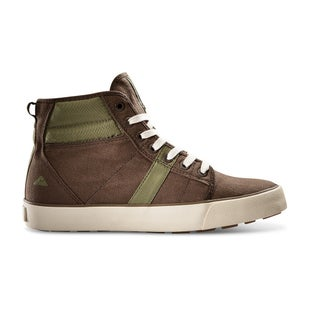 Ridgemont Crest Hi Waxed Boots - Brown Olive