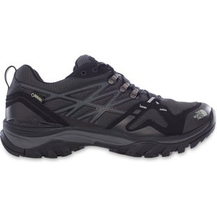 North Face Hedgehog Fastpack GTX Hiking Shoes - TNF Black High Rise Grey