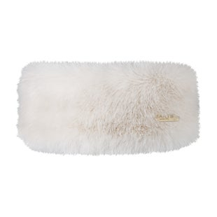 Barts Fur Ladies Headband - White