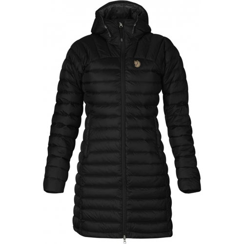 Fjallraven Snow Flake Parka Ladies Jacket - Black