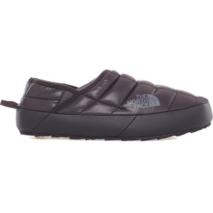 North Face Thermoball Traction Mule II Slippers - Shiny TNF Black Zinc Grey