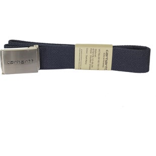 Carhartt Clip Chrome Web Belt - Dark Navy