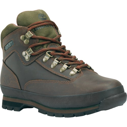Timberland Eurohiker Hiking Shoes - Brown Smooth