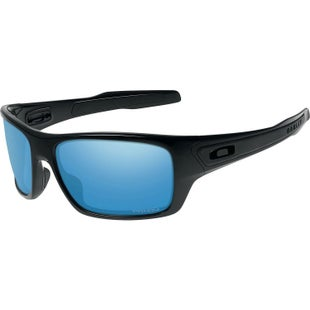 Oakley Turbine Angling Polarised Sunglasses - Polished Black ~ Prizm Shallow Water