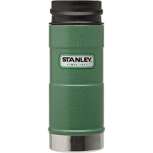 Stanley Classic One Hand 354ml Vacuum Cup - Hammertone Green