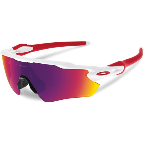 Oakley Radar EV Path Sunglasses - Polished White ~ Prizm Road