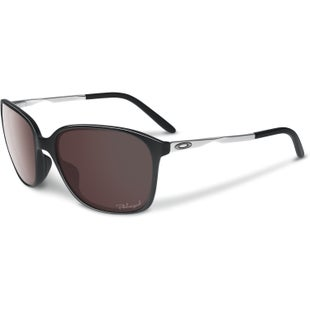Oakley Game Changer Polarised Ladies Sunglasses - Black Chrome ~ OO Black Iridium
