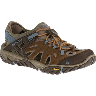 Merrell All Out Blaze Sieve Ladies Water Shoes - Brown Sugar Blue Heaven