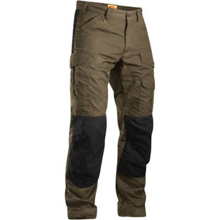 Fjallraven Barents Pro Walking Pants - Dark Olive Black