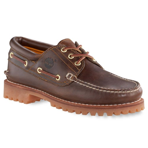 Timberland Heritage 3 Eye Classic Lug Shoes - Brown