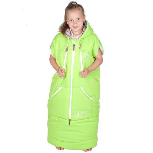 SLPY The Wearable Sleeping Bag - Kids Sleepy - Green