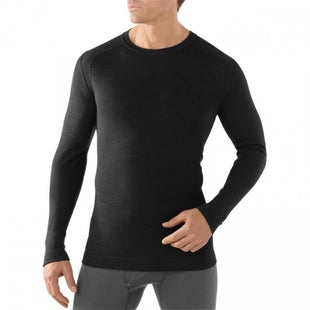 Smartwool NTS 250 Midweight Crew Base Layer Top - Black