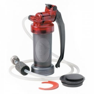 MSR Miniworks EX Microfilter Water Purification - Red