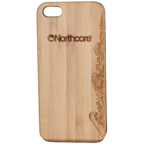 Northcore Adventure Wood iPhone 5 - 5S Phone Case - Bamboo Black