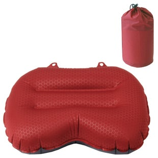 Exped Medium Air Travel Pillow - Ruby Red