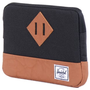 Herschel Heritage Sleeve for iPad Mini Tablet Case - Black Tan