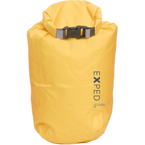 Exped Fold Dry Bright Small Drybag - Yellow