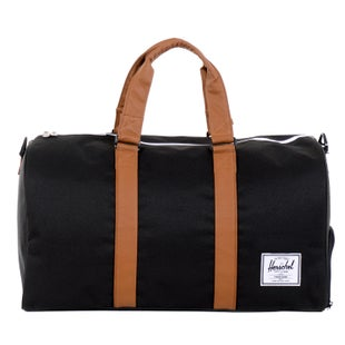 Herschel Novel Duffle Bag - Black Tan