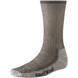 Smartwool Hike Medium Crew Hiking Socks - Dark Brown