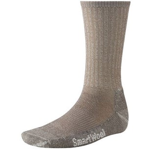 Smartwool Hike Light Crew Hiking Socks - Taupe