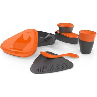 Light My Fire 8 Piece Mealkit 2.0 Camping Accessory - Orange
