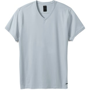 Oakley Icon V Neck T Shirt - Grey Slate