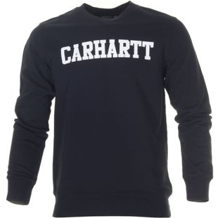 Carhartt College Sweater - Black White