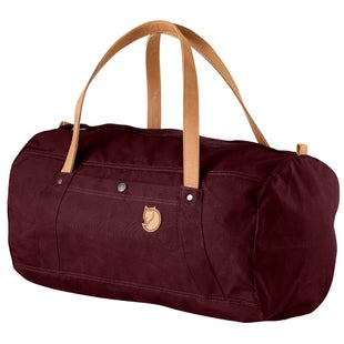 Fjallraven No 4 Duffle Bag - Dark Garnet