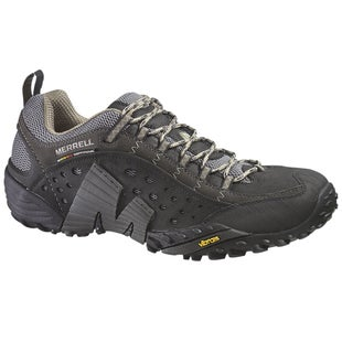 Merrell Intercept Hiking Shoes - Smooth Black