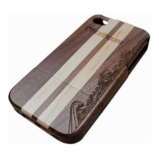 Northcore Adventure Wood iPhone 5 - 5S Phone Case - Sapele Applewood