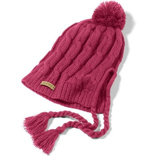 Oakley Allee Earflap Ladies Beanie - Mulberry