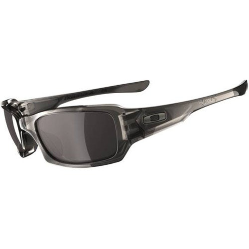 Oakley Fives Squared Sunglasses - Grey Smoke ~ Warm Grey