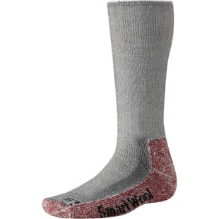 Smartwool Mountaineering Extra Heavy Crew Hiking Socks - Grey Crimson