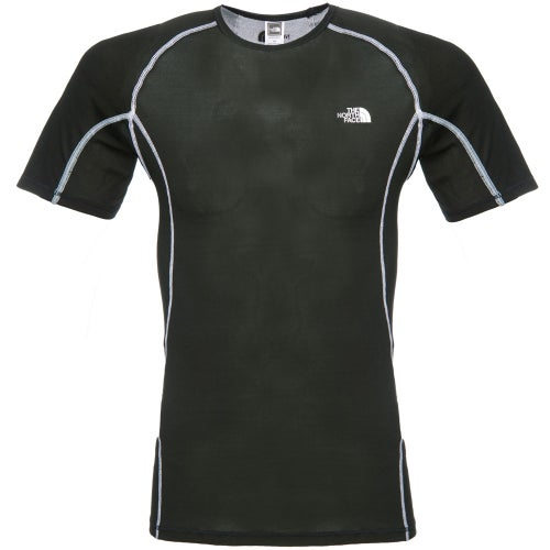 North Face Crew Neck SS Light Base Layer Top - TNF Black