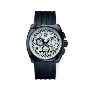 Luminox Tony Kanaan 1147 Watch - White Black