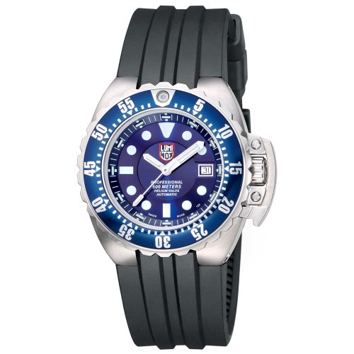 Luminox Deep Dive Automatic 1513 Watch - Blue White Dial