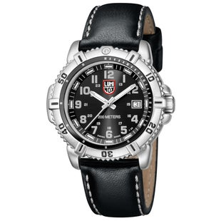 Luminox Steel Colourmark 7251 Watch - Black Grey Dial