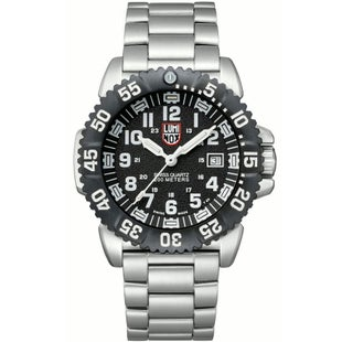 Luminox Navy Seal Steel Colourmark 3152 Watch - Black White Dial