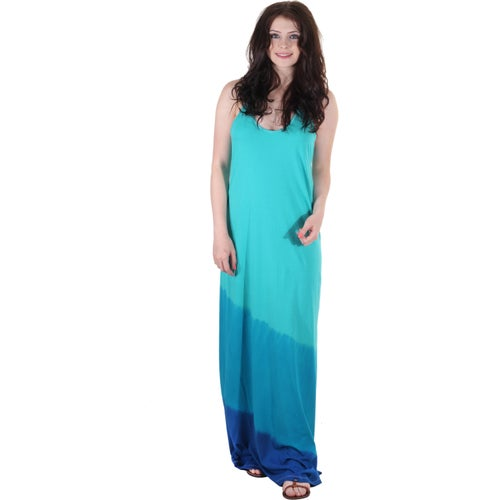 Oakley Peak Breeze Maxi Ladies Dress - Blue