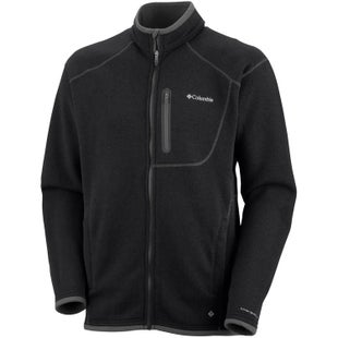 Columbia Altitude Aspect Full Zip Fleece - Black Heather