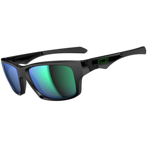 Oakley Jupiter Squared Sunglasses - Polished Black ~ Jade Iridium