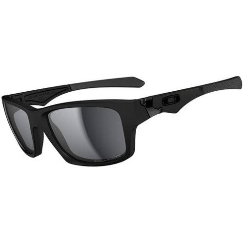 Oakley Jupiter Squared Polarised Sunglasses - Matte Black ~ Black Iridium