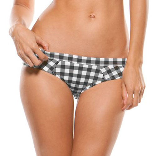 Oakley Peaches Ladies Bikini Bottoms - Jet Black
