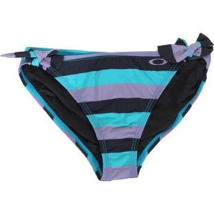 Oakley Dolly Ladies Bikini Bottoms - Printed Chrome Purple